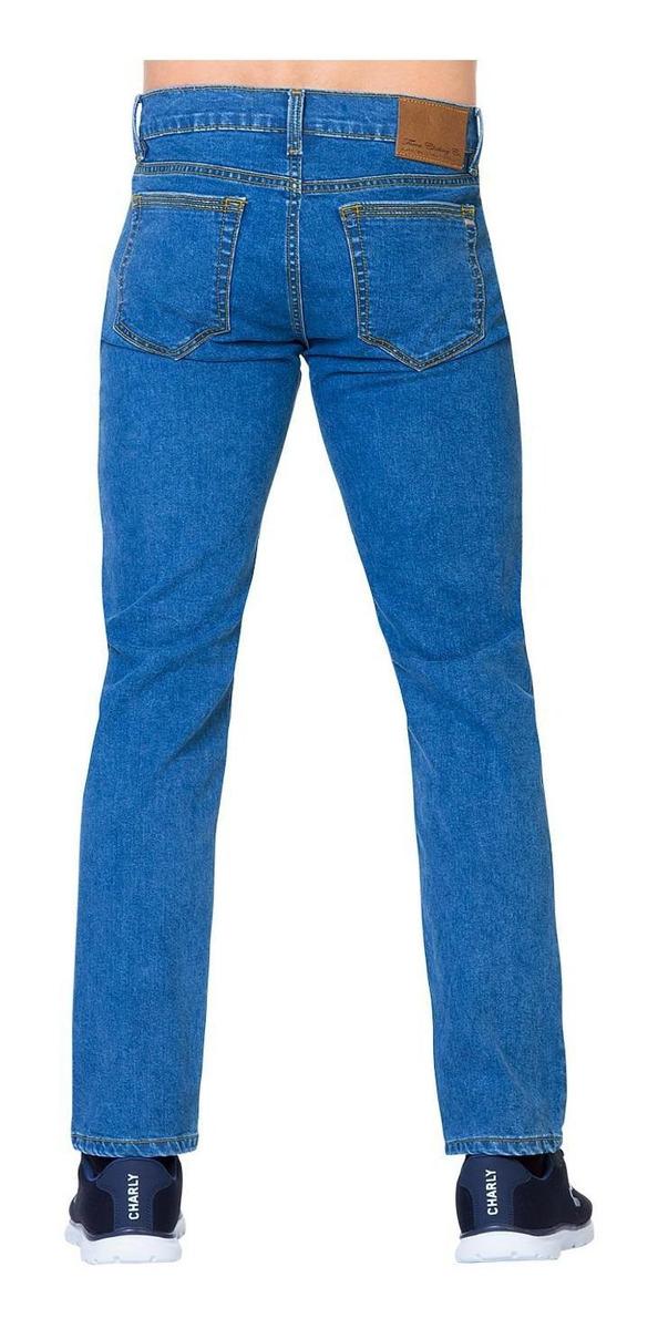Jeans Furor Hombre 10102936 Stone Medio Mezclilla Stretch ...