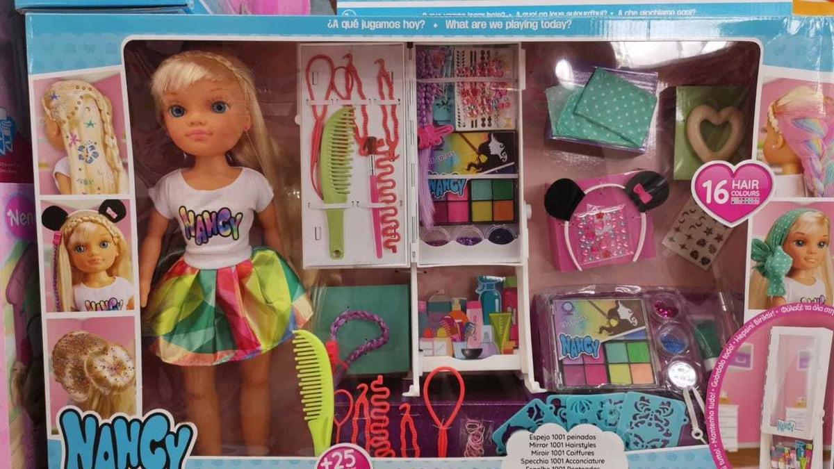 Fabuloso nancy 1001 peinados Imagen de cortes de pelo estilo - Muñeca Nancy 1001 Peinados Pregunta Y Te Mejoro El Precio ...