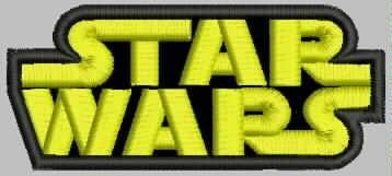 Star Wars, Parches Bordados, Excelente Calidad