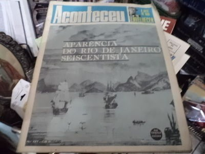 Aconteceu N°127 Aparecencia Do Rio De Janeiro