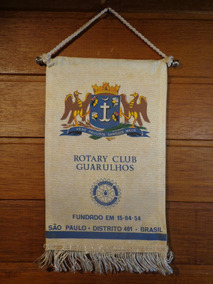 Antiga Flâmula Rotary Guarulhos - F0242