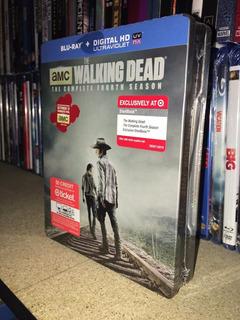 Blu Ray Steelbook The Walking Dead La 4ta Temporada Imp Usa