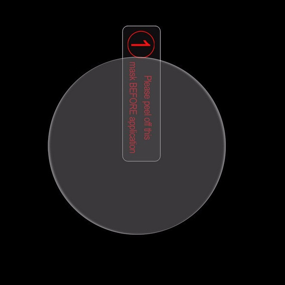 Pelicula De Vidro Relogio 3,1 Mm Ou 1,2 Polegadas