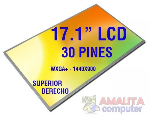 Imagen 1 de 4 de Pantalla 17.1 Lcd 30 Pin Hp Acer Asus Msi Toshiba Compaq