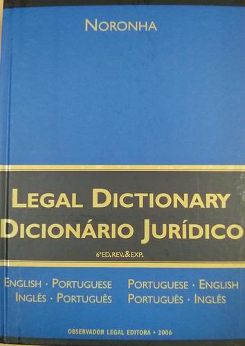 Imagem 1 de 1 de Dicionário Jurídico  6ª Edição