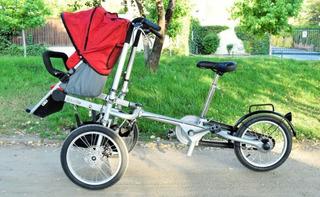 Bicicleta Y Coche 1 Silla