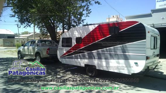 Casa Rodante Patagonica 6 Pers Apta Cordillera Usada Nuevas