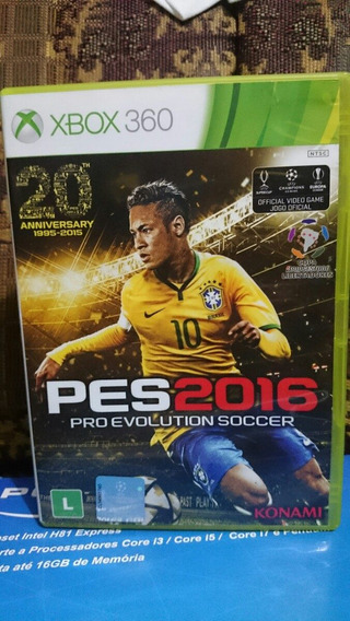 Pro Evolution Soccer 2016 Pes 16 Xbox 360 Ntsc Frete: R$10
