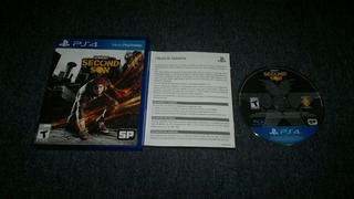 Infamous Second Son Completo Para Play Station 4