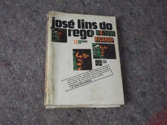 Livro - Moleque Ricardo - José Lins Do Rego