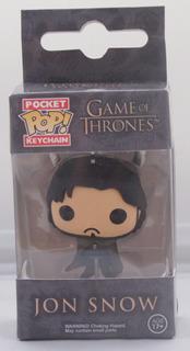 Chaveiro Jon Snow Game Of Thrones Estilo Funko
