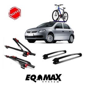 Rack Teto Gol G5 Eqmax Preto+transbike Teto Eqmax 2 Bike