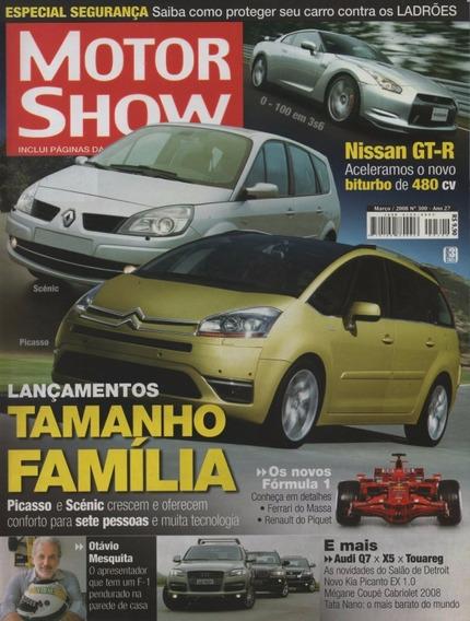 Motor Show Nº300 Scénic Picasso Nissan Gt-r Audi Q7 Bmw X5
