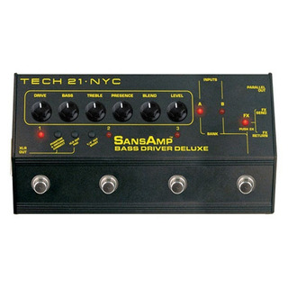 Pedal Preamp Sansamp Dlx Bass Driver Deluxe