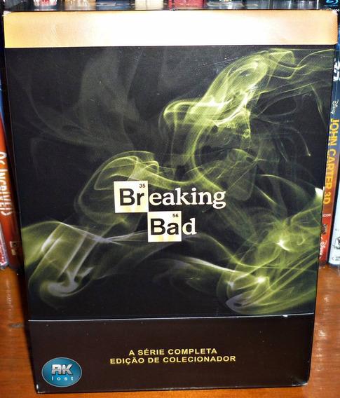 Blu-ray - Breaking Bad: A Coleção Completa - 16 Discos