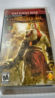 God Of War Chains Of Olympus Para Psp - Greatest Hits-