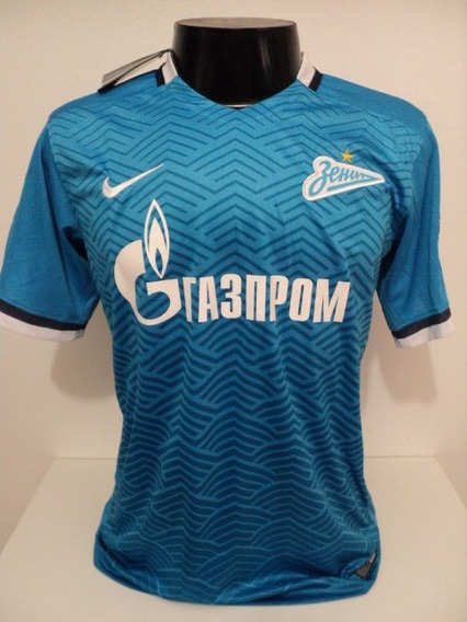 Camisa Zenit Home 15-16 Hulk 7 Patch Champions League Imp