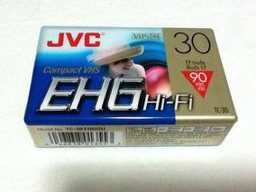 Fita Jvc Ehg Compact Vhs Tc-30 Sp30 Ep 90 P/ Filmadora