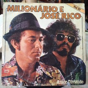Lp- Milionário E José Rico- Amor Dividido