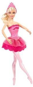 Barbie En The Pink Shoes Bailarina Vestido Rosa De La Muñeca