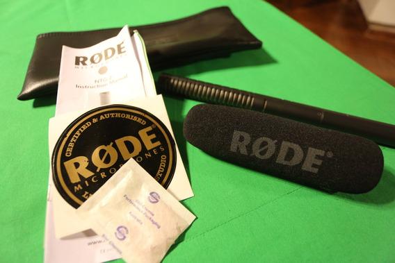 Microfone Shotgun Rode Ntg2