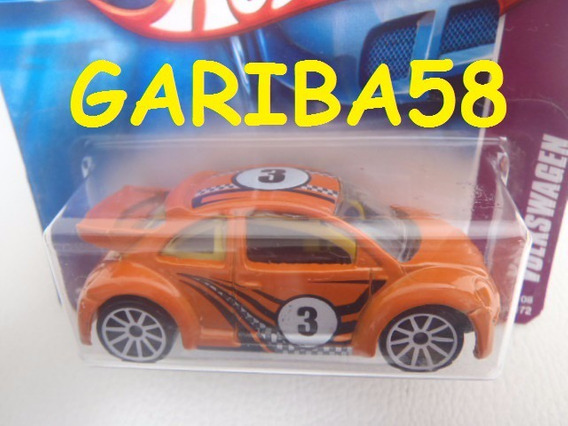 R$30 No Lote Hot Wheels New Beetle Cup 2008 Vw Gariba58