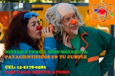 Animación Científica Cumpleaño Científico Shows Burbujas