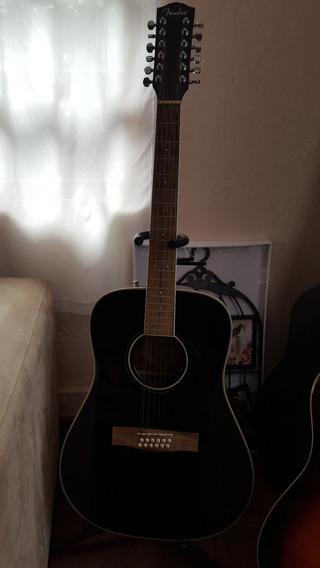 Guitarra Fender De 12 Cuerdas Sixtillo Electroacustica