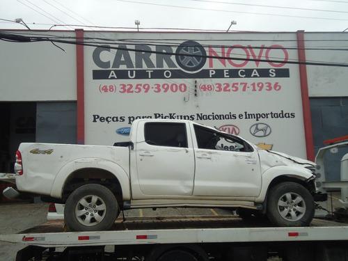 Sucata Toyota Hilux 2.7 Flex Ano 2012/2012 4x4