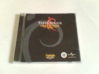 Cd Tapis Rouge - Cirque Du Soleil