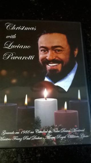 Dvd Luciano Pavarotti : Christmas - Gravado Em 1988 No Canad