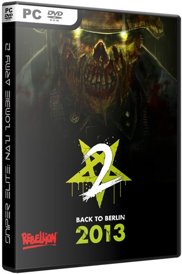 Sniper Elite: Nazi Zombie Army 2 - Dvd Pc - Frete 8 Reais