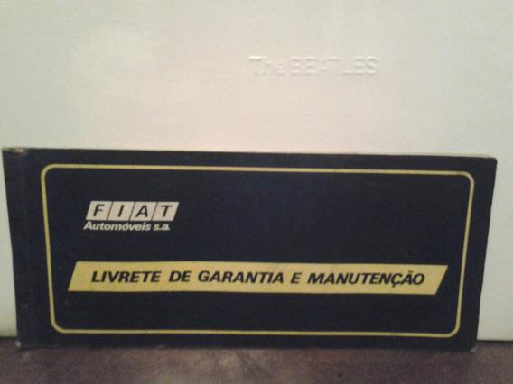 Livrete De Garantia E Manutenção Fiat 147 - 1977