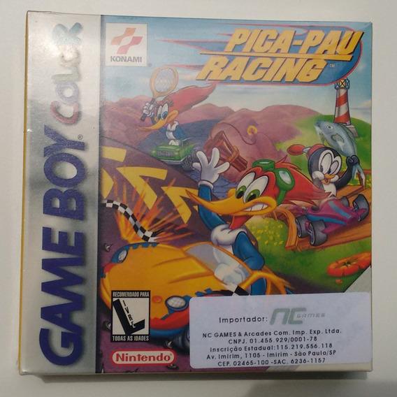 Jogo Pica-pau Racing Game Boy Color Lacrado + Brinde