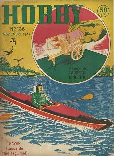 Hobby N° 136__nov 1947__ver Índice (carreta Criolla)