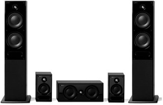 Home Theater 5.0 Kef Serie C