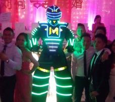 Robot Led Máximium Co2 Zanqueros Discplay Dj Hora Loca Samba