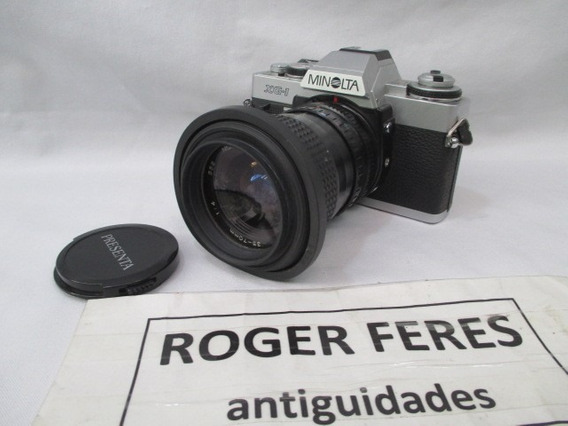 Antiga Camera Minolta Xg-1 Lente 35-70mm