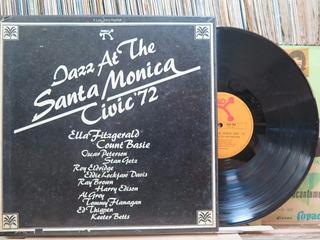 Jazz At The Santa Monica Civic - Caixa Box 3 Discos Encarte