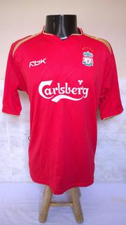 Camisa Futebol Do Liverpool Da Inglaterra - Luis García