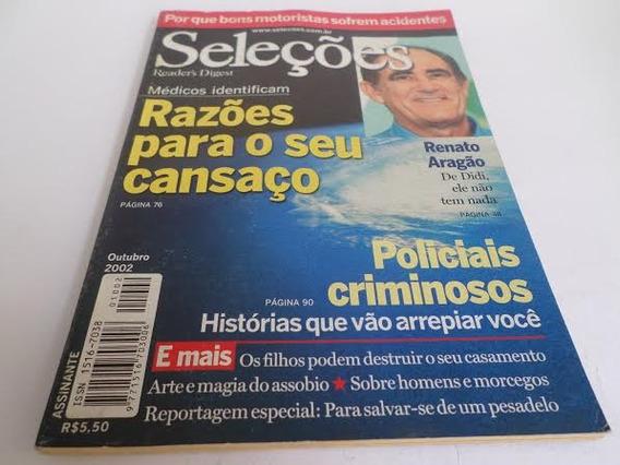 Revista Seleções Razões Para O Seu Cansaço Ano Outubro 2002