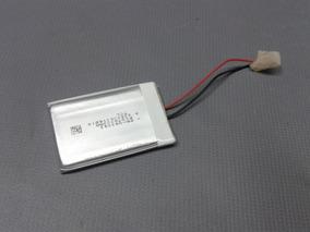 Bateria 3,7v 400ma P/ Gps 4,3cm X 3cm X 3mm 2 Fios