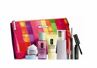Tm Clinique 8 Pieces Makeup & Skincare Gift Set 2015 Spring