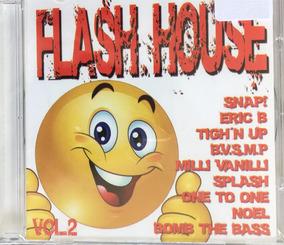 Cd Flash House 2 - Milli Vanilli - Linear - Bvsmp (lacrado)