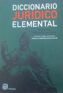 Diccionario Juridico Elemental Cabanellas Nuevo Original