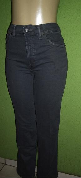 Calça Jeans Retro Cintura Alta Tamanho 40