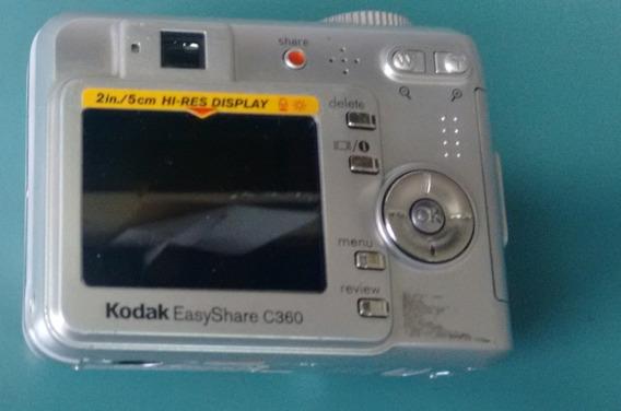 Câmera Digital Kodak Easyshare C360 (com Defeito)
