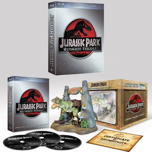Jurassic Park La Trilogía Edición De Colección Blu-ray