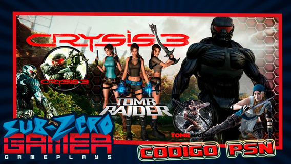 Crisis 3 + Tom Raider (digital Code) Ps3