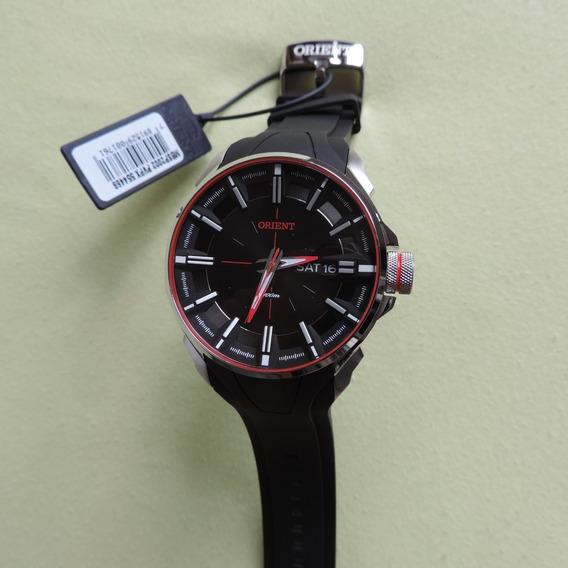 Relógio Orient Mbsp2002 Masculino Sport Fundo Rosqueado Belo